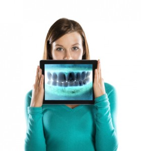woman staying healthy with the dentist albuquerque trusts dr monica boehmer