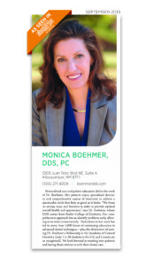 a screenshot of Dr. Boehmer in Albuquerque the Magazine